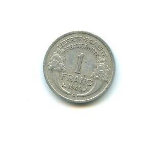 1 franc Morlon aluminium 1945 C n°E2759