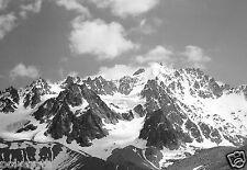 Paysage montagne Alpes neige # 3 - Tirage d'après négatif photo ancien deb. XXe