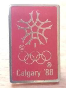 Pin Canada, Olympische Winterspiele Calgary 1988