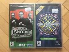 2 PSP Games Bundle (1 New & 1 Complete with Manual)