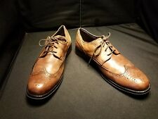 LN~ Dockers ~ Moritz Men's Wingtip Oxfords Brown Leather ~ Size 11.5 M ~ Lace Up