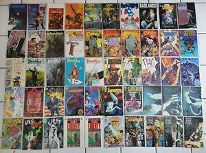 Aliens~Predator~Mask~Tales Madman~Hellboy~SIGNED Dark Horse 100 Comic Book Lot