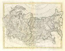 """""""Rusia Asiatica divisa.."""". Rusia asiático. Siberia. zatta 1785 Antiguo Mapa Antiguo"""
