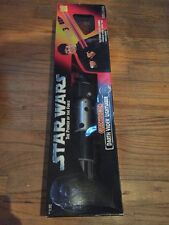 STAR WARS DARTH VADER ELECTRONIC LIGHTSABER POWER OF THE FORCE POTF FSNIB NEW