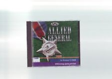 ALLIED GENERAL-Classique RARE SSI Stratégie PC Game-Fast Post-New & Sealed