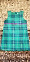 LILLY PULITZER Kids Size 6x Green check Dress vintage