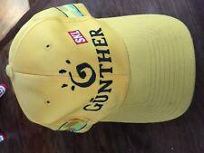Formula 1 race collectors item hat cap Jordan Gunther racing Schumacher yellow