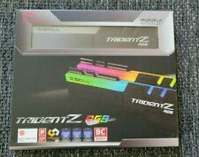 G.SKILL Trident Z RGB DDR4 320016GB (2X 8GB) F4- 3200C16D-16GTZR   AAA1003