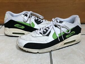 Nike Air Max 90 Green White & Black 2007 312334-061 Shoes Size 12 Make an Offer!