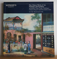 Sotheby's Fine Chinese Works of Art Paintings Furniture Catalog 3/16/1981 Jade