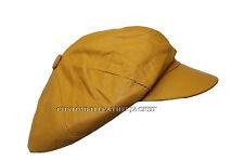 New Gatsby Leonardo Style Yellow Unisex Napa High Quality Genuine Leather Hat