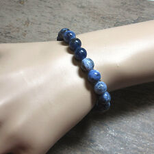 Sodalite 8mm Stretch Bead Bracelet  - Fast, Free US Shipping