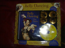 Belly Dancing book and Kit with 2 Brass Zills Book and Cd Basics 2 dance routine