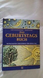 Goldschneider, Gary, Joost Elffers Das Geburtstagsbuch Botschaften der Sterne sz