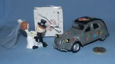 "NewRay 1/32 : Citroen 2cv Berline anno 1952 ""Just Married"" Limited 24"
