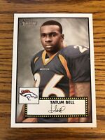 Tatum Bell 2006 Topps Heritage Broncos Card #288  *967*