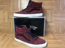 RARE🔥 VANS Sk8-Hi Vault Zip LX Premier Suede Dark Shadow 13 Skateboarding Shoes
