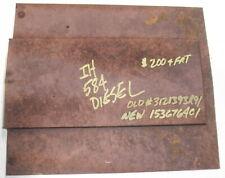IH 584 Diesel Rear Hood Cover 1536764C1 3121393R91