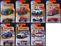 2019 Matchbox Wave C - All 7 Vehicles / Mercedes-Benz / Nissan / Chevy® / MOC
