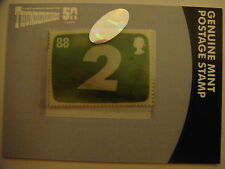 THUNDERBIRDS 50TH ANNIVERSARY: MOTION STAMP CARD: THUNDERBIRD 2  PS1
