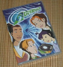 NEW Adventurers Masters of Time DVD 90s Cartoon TV Series Sci-Fi