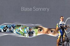 CYCLISME  carte cycliste BLAISE SONNERY équipe AG2R 2007
