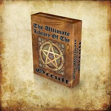Library of 1200+ Rare Occult Vintage Books Images DVD- Withcraft Wicca Freemason