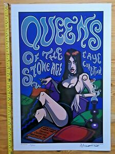 Justin Hampton Queens Of The Stone Age Rye Coalition Ventura Calif 03 Poster S/N