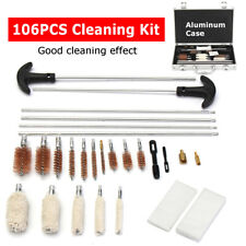 106x Universal Cleaning Kit Cleaner For Shotgun Firearm Shotgun Gun Pistol Rifle