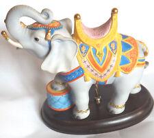 Lenox Carousel Elephant Carousel Horse Collection Lenox Fine Porcelain 1989