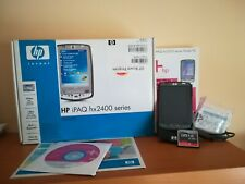 HP iPaq Pocket PC Hx2410 2410 Windows mobile ita, WiFi, bluetooth + supp. Auto
