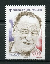 France 2017 MNH Maurice Faure WWII WW2 French Resistance 1v Politicians Stamps