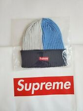 Supreme SS20 Overdyed Beanie Mixed Light Blue Authentic Cheapest on Ebay