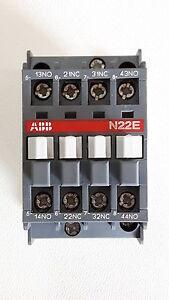 ABB N22E 230V Motorschutzschalter Hilfsschütz 1SBH141001R4222 N22E-42 NEU (#200)
