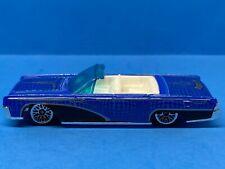 Hot Wheels 1964 Lincoln Continental - Blue