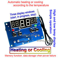 DC 12V Intelligent Digital LED Thermostat Temperature Controller Switch + Probe
