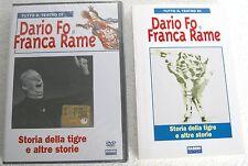DARIO FO e FRANCA RAME Storia della tigre e altre storie (1991) DVD + LIBRO