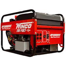 Winco HPS9000VE - 8,000 Watt Tri-Fuel Generator w/ Electric Start B&S Vanguar...