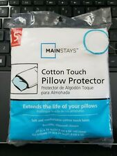 Mainstays Cotton Touch Pillow Standard Cover Ships in 24 hours!