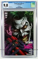 BATMAN THREE JOKERS #1 CGC 9.8 NM/MT Premium Variant F BOMB Jason Fabok 2020