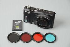 Look! Full Spectrum converted Nikon S9100 +4 gift filters 590nm 650 680& IR CUT