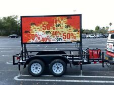 Commercial Outdoor Led Hd Video Billboard Sign Full Color 4ft X 9ft
