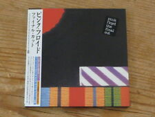 Pink Floyd: Final Cut Japan CD Mini-LP TOCP-67407 SS(roger waters dave gilmour Q