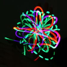 4 LED Orbit Candy Flow Multi-Color Pink Orange Green Ribbon Microlights Rave
