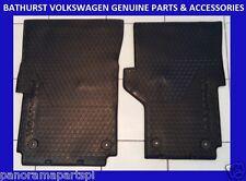Volkswagen Amarok Front Rubber Floor Mats 4x4 4x2 GENUINE NEW