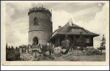 Berg Kleť Tschechien Ceskoslovensko AK ~1950/60 Fürst-Joseph-Turm Aussichtspunkt