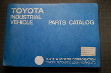 Toyota Pd07 02 2td20 Lift Truck Forklift Parts Manual Book Catalog Spare Shop Oe