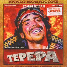 LP Ennio Morricone Tepepa Limited Clear Orange Coloured  Vinile Ost Soundtrack