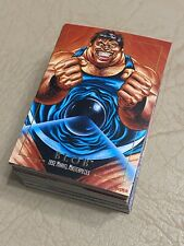 1992 MARVEL MASTERPIECES TRADING CARDS - COMPLETE 100 CARD BASE SET NM/MT