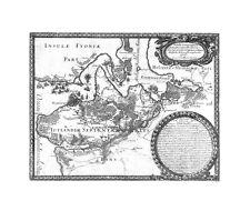 Antique map, Tabula Geographica Iutia Septentrionalis .. Frederici-uddae